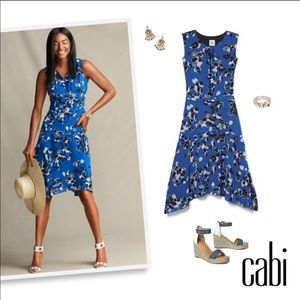 CAbi #5576 Electric Blue Collection Untamed Dress